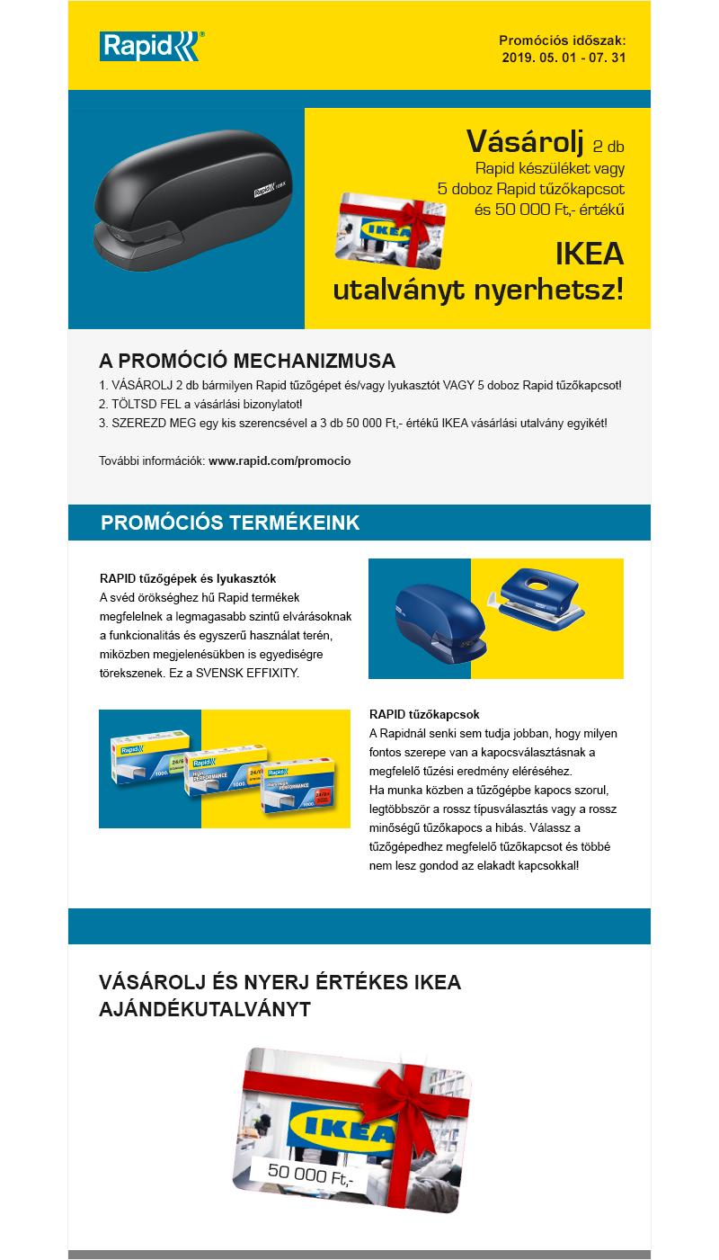 Rapid-IKEA promo