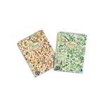Jegyzettömb spirálos Pigna Nature Flowers A/5 50 lapos kockás