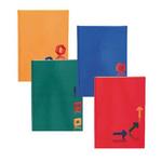 Beíró Educa A4 96lapos vonalas egyszínű lakkozott kemény karton borítóval