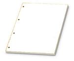 Gyűrűskönyvbetét A4 vonalas 50lapos, 4 lyukú