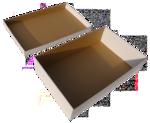 Postázó kartondoboz 240X330X24mm