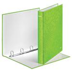 Leitz WOW karton gyűrűskönyv, 4 gyűrű, zöld (42420064 helyettesítője) 42420054