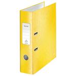Leitz WOW karton 180° iratrendező, 80mm, sárga 10050016
