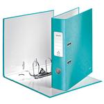 Iratrendező Leitz lakkfényű 180 fokos, 80mm, jégkék 10050051