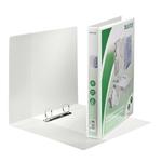 Gyűrűskönyv Leitz panorámás A4 Maxi 2gy fehér 44mm gerinc 42790001