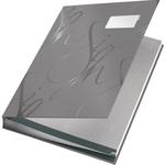 Aláírókönyv Leitz A4 18 részes szürke 57450085