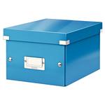 Tárolódoboz Leitz Click&Store A5 méretű, kék 60430036