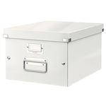 Tárolódoboz Leitz Click&Store A4 méretű, fehér 60440001