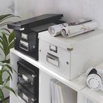 Tárolódoboz Leitz Click&Store A4 méretű, fekete 60440095