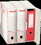 Esselte archiváló doboz, iratrendezők számára, fehér 10024