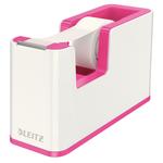 Leitz WOW ragasztószalag-adagoló, ragasztószalaggal, rózsaszín 53641023