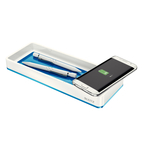 Leitz WOW rendszerező tálca és indukciós töltő, kék 53651036