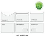 Boríték LC5 enyvezett környezetbarát 162x229mm EURO