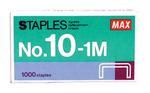 Tűzőkapocs MAX No.10. 1000db/doboz