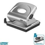 Lyukasztó Rapid FMC25 fém ezüst max. 25 laphoz 21835502