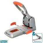 Lyukasztó Rapid HDC150 Supreme ezüst/narancs max. 150 laphoz 23000600
