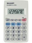 Zsebszámológép Sharp EL233S (EL233ER utóda)