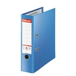 Iratrendező Esselte Jumbo Plus A4 8cm VIVIDA kék 81185