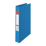 Gyűrűskönyv Esselte Standard A4 4,2 cm 2-gyűrűs VIVIDA kék 14452