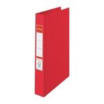 Gyűrűskönyv Esselte Standard A4 3,5cm 4-gyűrűs VIVIDA piros 14459
