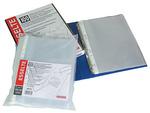 Genotherm lefűzhető Esselte Luxus A4/75mic víztiszta 100db/csomag