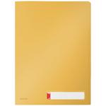 Leitz Cosy Privacy rendszerező genotherm, A4, PP, meleg sárga (3db)