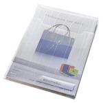 Lefűzhető tasak füllel Leitz Combfile Jumbo áttetsző 3db/csomag 47270003