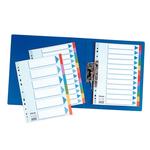 Elválasztólap Esselte Standard A4 karton 5-részes 100191