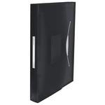 VIVIDA harmonika irattartó, PP, fekete 624017