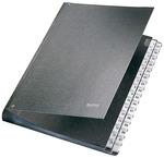 Előrendező karton Leitz A4 1-31 fekete 58310095