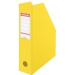 Iratpapucs Esselte 8cm hajtható PVC VIVIDA sárga 56001