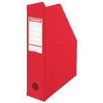 Iratpapucs Esselte 8cm hajtható PVC VIVIDA piros 56003