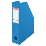 Iratpapucs Esselte 8cm hajtható PVC VIVIDA kék 56005