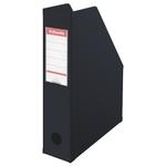 Iratpapucs Esselte 8cm hajtható PVC VIVIDA fekete 56007