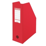 Iratpapucs Esselte 10cm hajtható PVC VIVIDA piros 56073