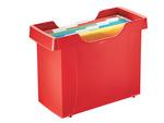 Függőmappa tartó Leitz Plus 20-25 mappához piros 19930025