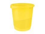 Papírkosár Esselte Europost 14 literes, VIVIDA sárga 623946