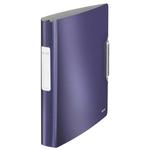 Active STYLE gyűrűskönyv, 30mm, softclick, titánkék 42450069