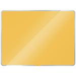 Leitz Cosy mágneses üvegtábla 60 x 40 cm, meleg sárga