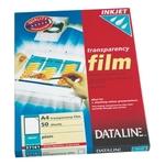 Írásvetítő fólia Dataline, tintasugaras nyomtatókhoz 57161