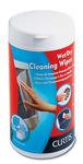 Tisztítókendő flakonos nedves/száraz Esselte 67119