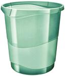Esselte Colour'Ice papírkosár, 14l áttetsző zöld