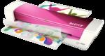 Laminálógép Leitz iLAM Home A4 rózsaszín