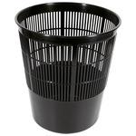 Papírkosár fekete (vegyes szín) rácsos műa, 17L