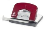Lyukasztó ICO Boxer P1 piros max.15laphoz
