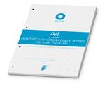 Gyűrűskönyv betét ICO Boxer A4 kockás 50 lapos, 4 lyukú