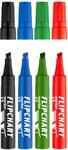 ICO Flipchart marker Artip 12 4db-os készlet, vágott csúcsos