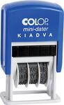 Dátumbélyegző COLOP S160/L Kiadva+dátum