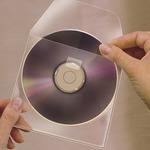 3L CD tartó zseb 127x127mm, kiszedő réssel 10db/CSM