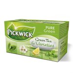 Pickwick zöld tea variációk III. 35g pure,jázmin,lemon,min
